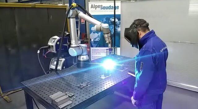 Formation soudage robotique